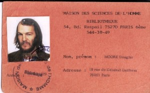 Douglas J H Moore in 1976
